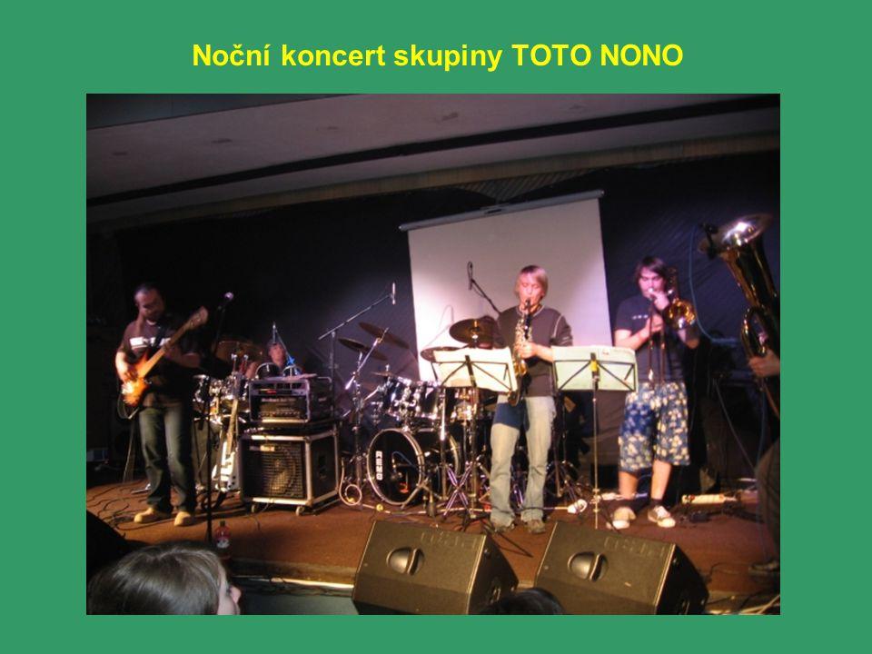 Noční koncert skupiny TOTO NONO