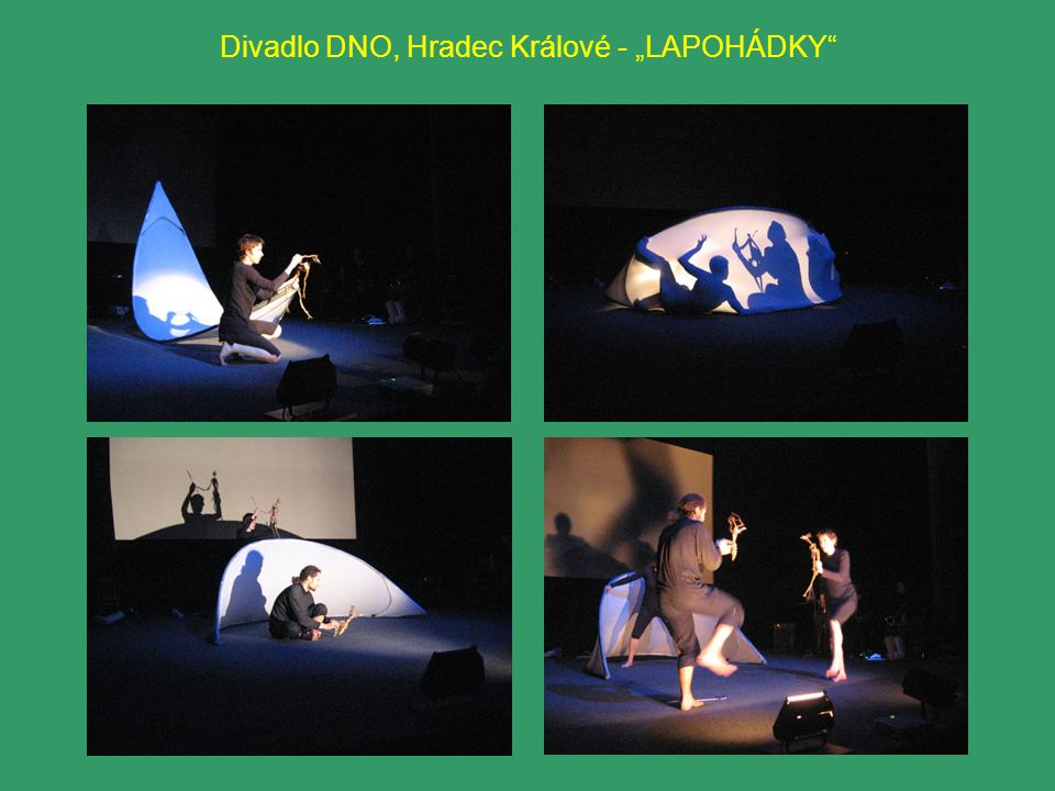 "Divadlo DNO, Hradec Králové - ""LAPOHÁDKY"""