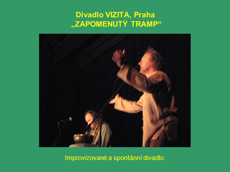 "Divadlo VIZITA, Praha ""ZAPOMENUTÝ TRAMP"" Improvizované a spontánní divadlo."