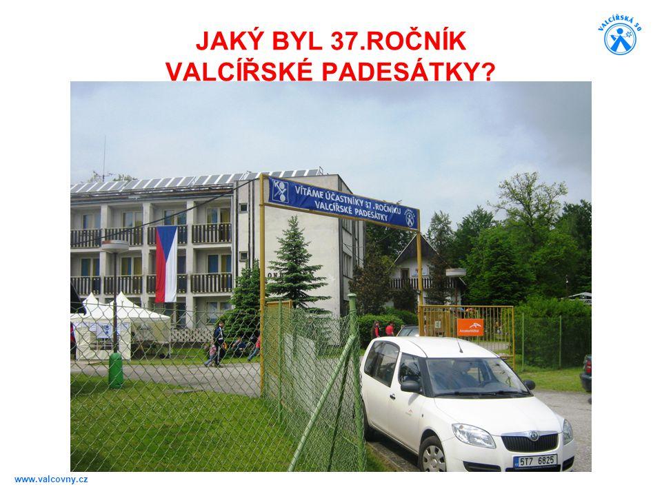 JAKÝ BYL 37.ROČNÍK VALCÍŘSKÉ PADESÁTKY? www.valcovny.cz