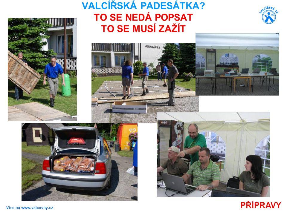 Více na www.valcovny.cz PREZENTACE VALCÍŘSKÁ PADESÁTKA? TO SE NEDÁ POPSAT TO SE MUSÍ ZAŽÍT