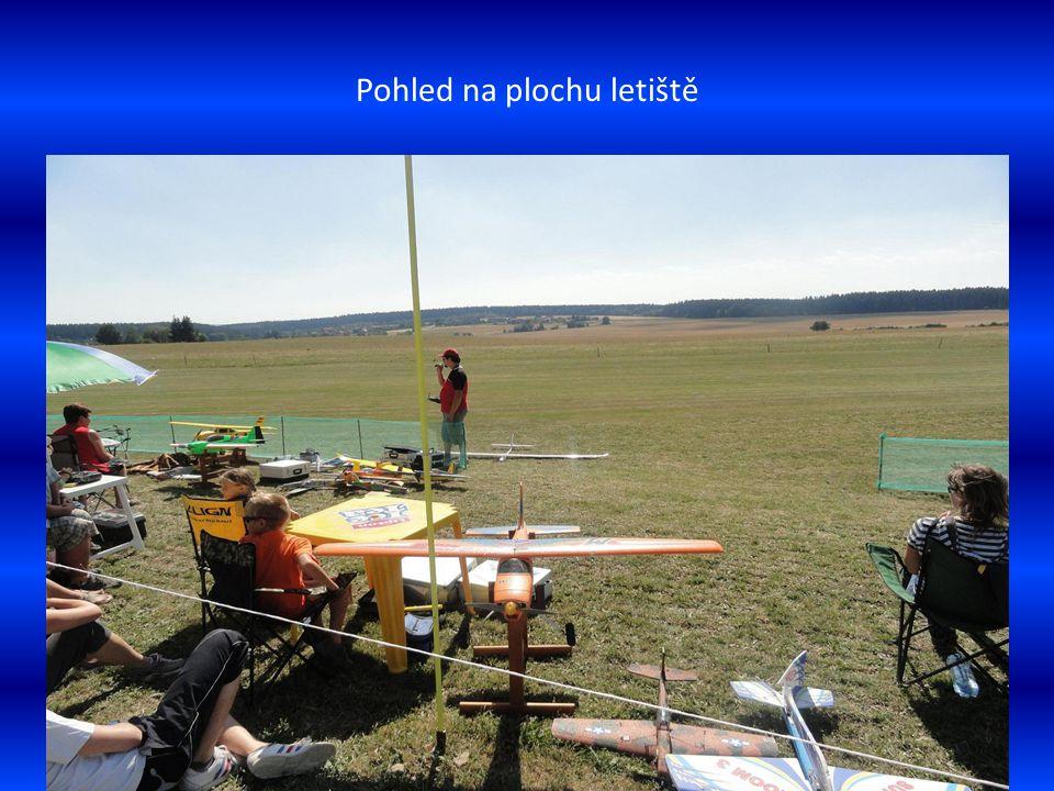 Model ve vzdušném prostoru při letu
