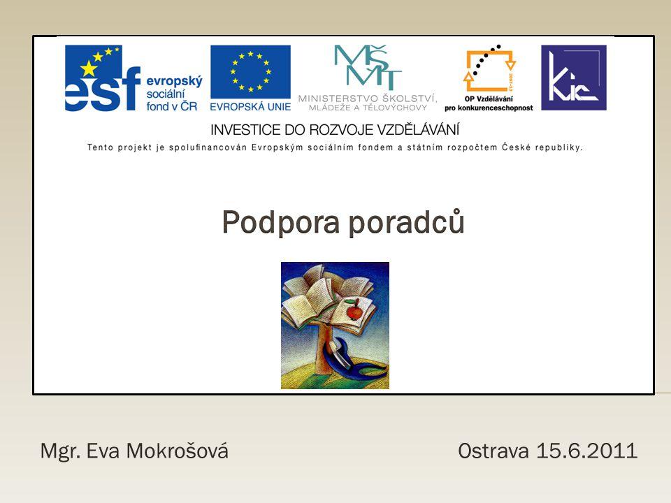 Mgr. Eva Mokrošová Ostrava 15.6.2011