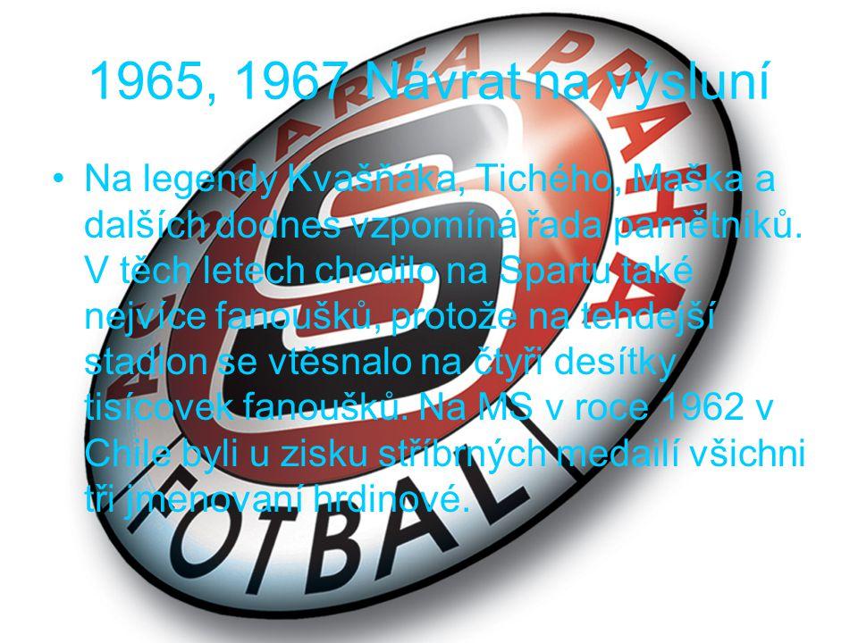 1975 Černý rok klubu, první a poslední sestup Při vzpomínce na rok 1975 dodnes pamětníkům přebíhá mráz po zádech.