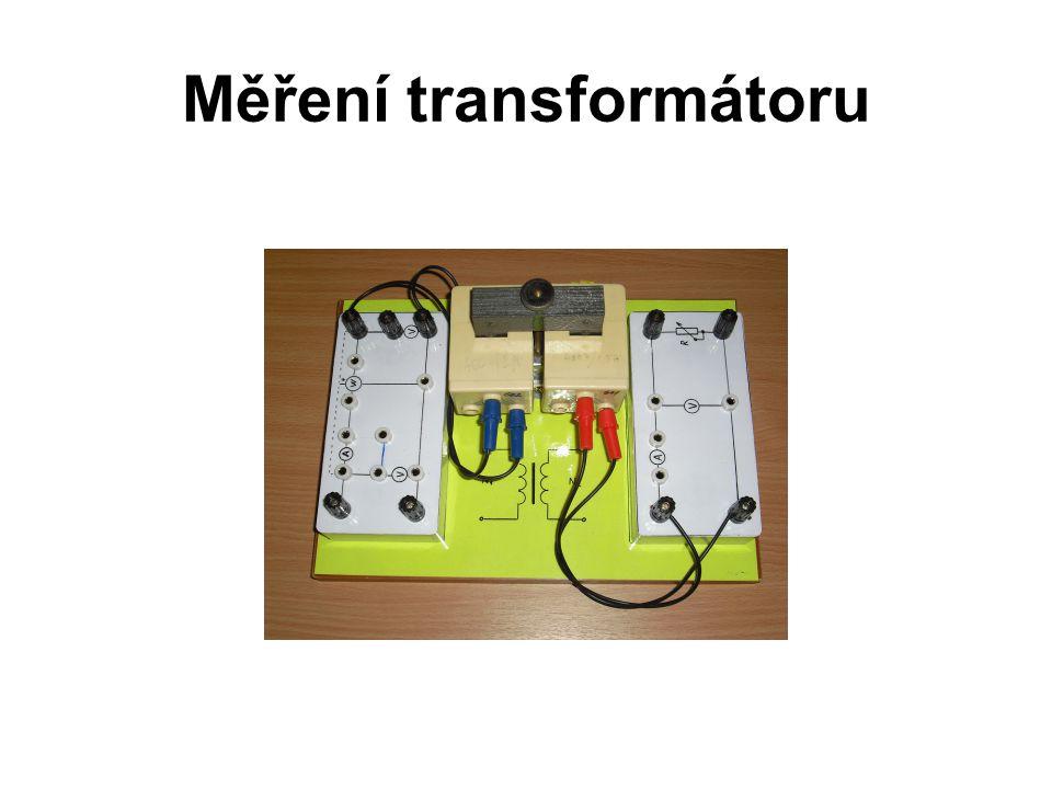 Měření transformátoru
