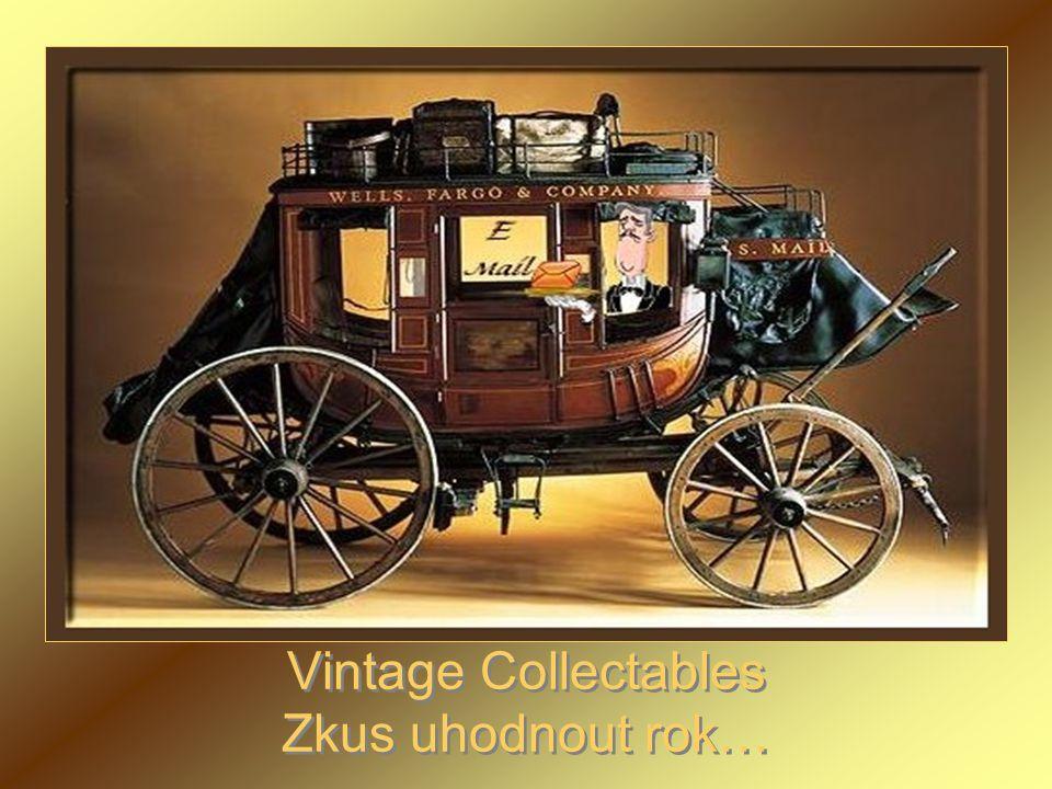 Vintage Collectables Zkus uhodnout rok…