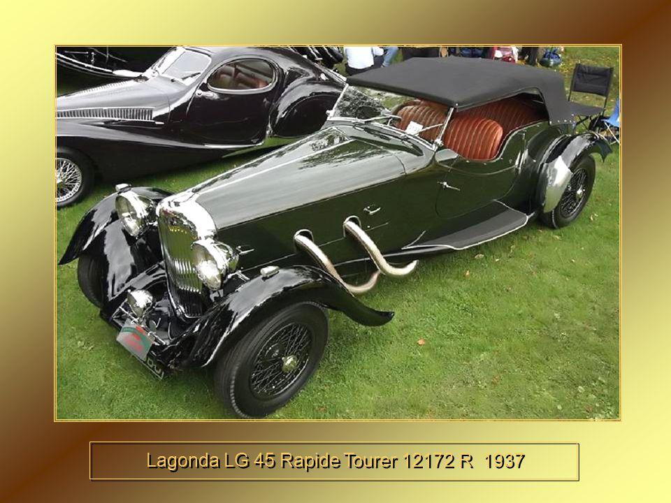 Bentley 4 litres Barker 3 1937