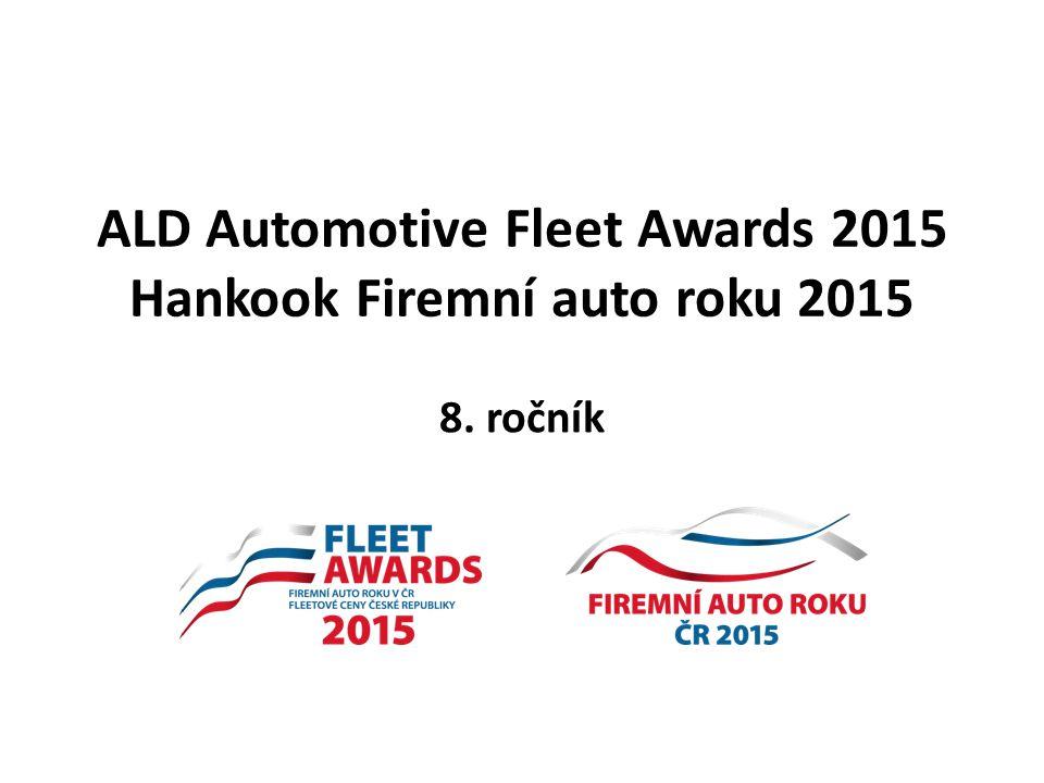 ALD Automotive Fleet Awards 2015 Hankook Firemní auto roku 2015 8. ročník
