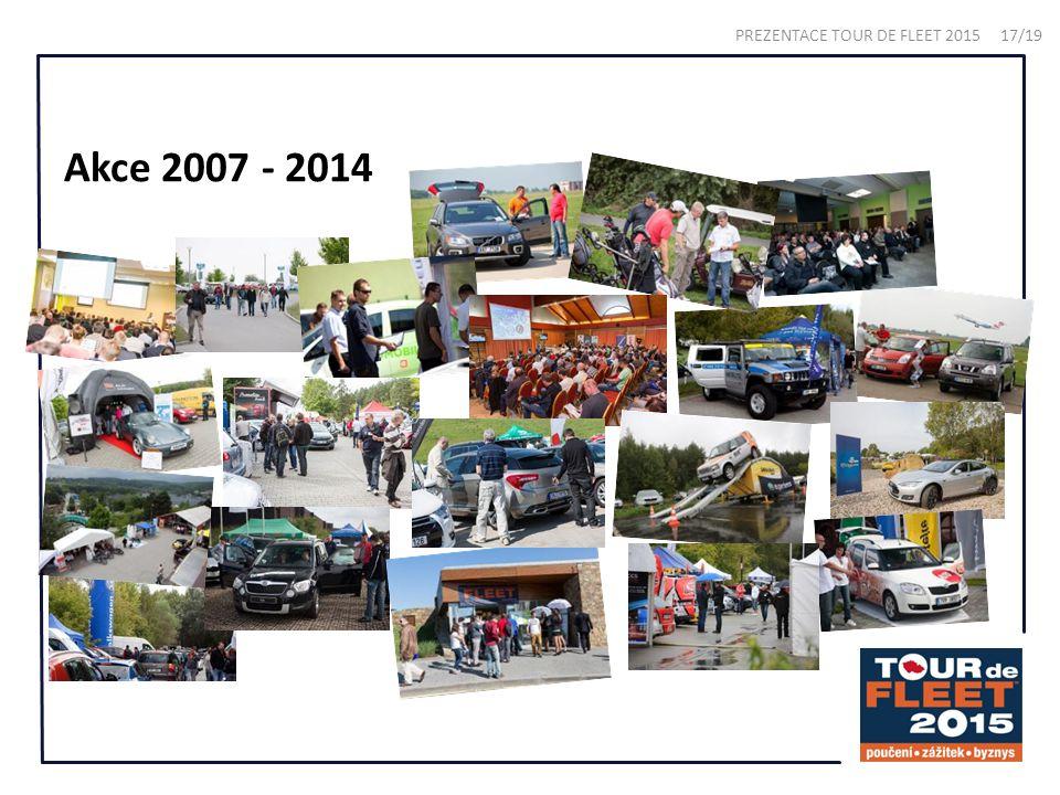 Akce 2007 - 2014 PREZENTACE TOUR DE FLEET 2015 17/19