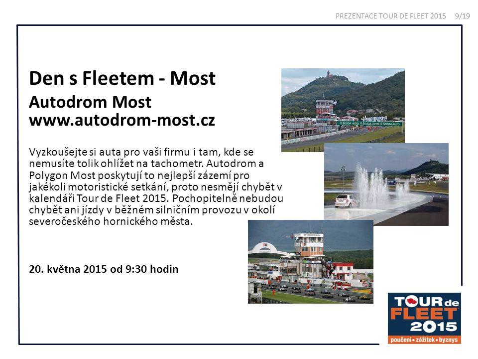 Den s Fleetem - Most Autodrom Most www.autodrom-most.cz Vyzkoušejte si auta pro vaši firmu i tam, kde se nemusíte tolik ohlížet na tachometr.