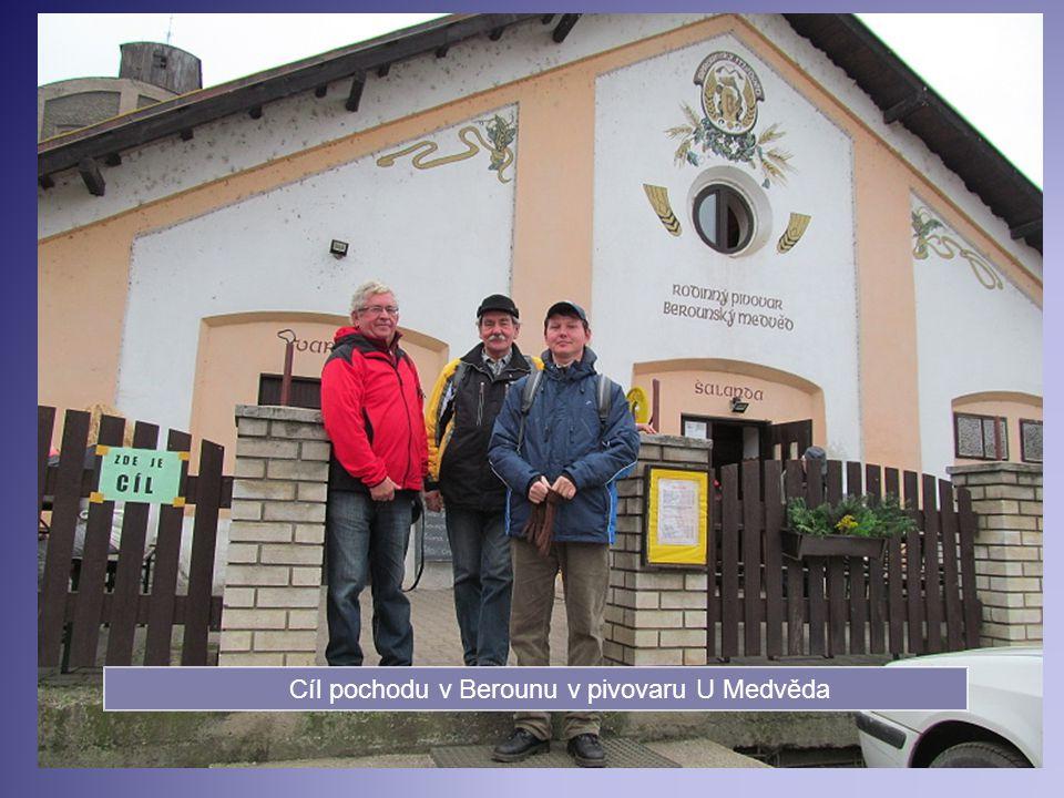 Na vrcholu Kokolové hory Zdice –Beroun 13 km