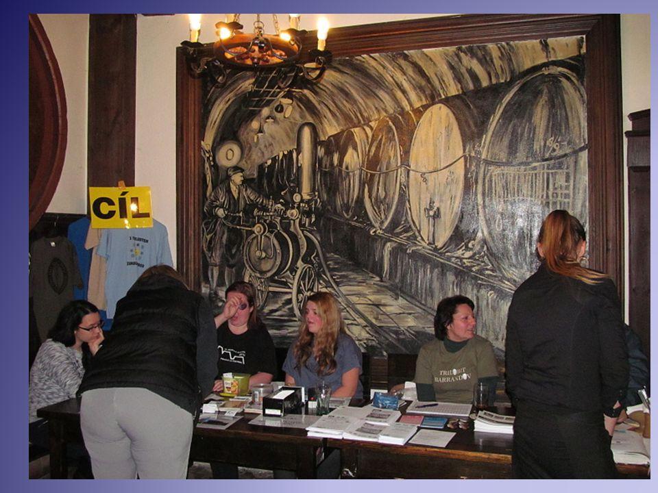 Cíl pochodu v Berounu v pivovaru U Medvěda