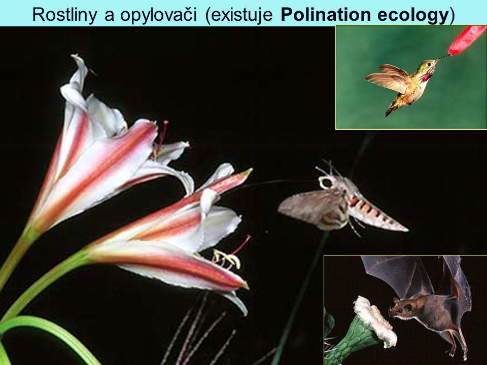 Rostliny a opylovači (existuje Polination ecology)