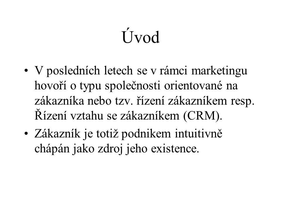 Úspěšné řízení vztahu se zákazníky I.