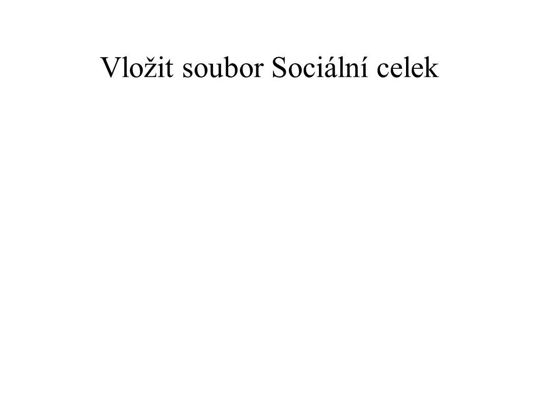 Vložit soubor Sociální celek