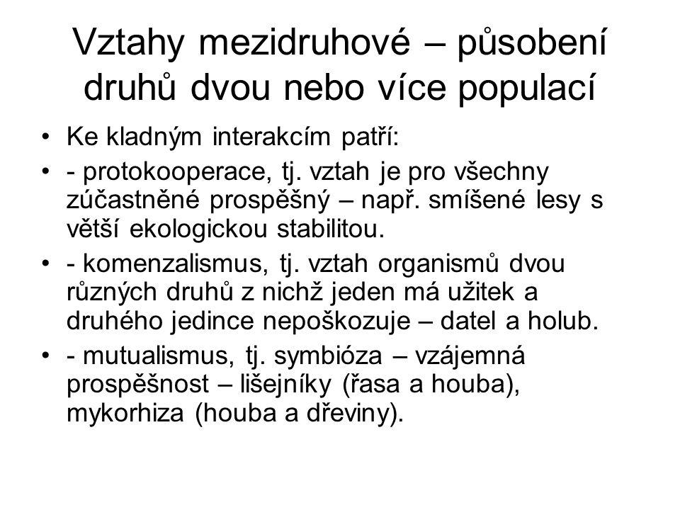 Alelopatie Převážně negativní působení na ostatní druhy původní význam MOLISCH 1937).