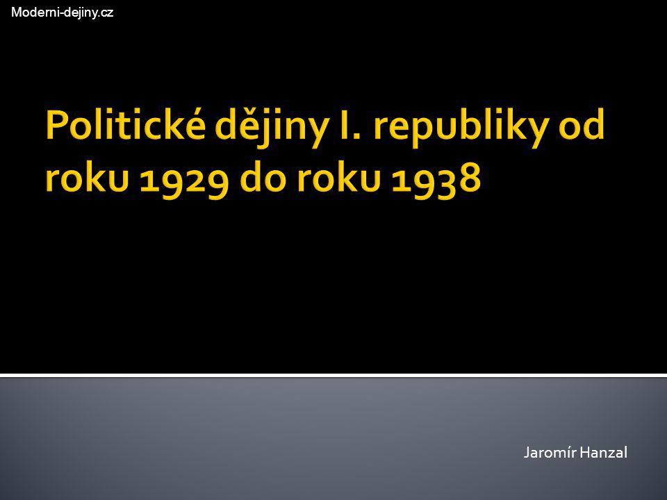 Jaromír Hanzal Moderni-dejiny.cz