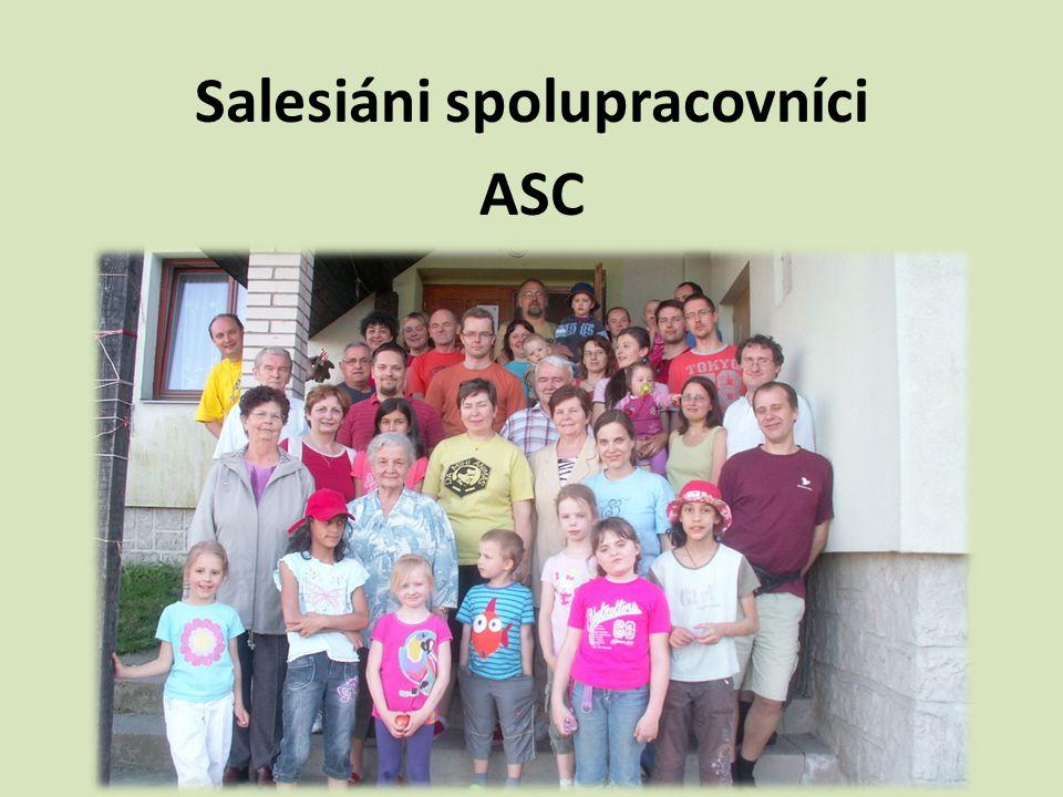 Salesiáni spolupracovníci www.ascczech.cz Děti, mládež a rodiny jsou nadějí společnosti.