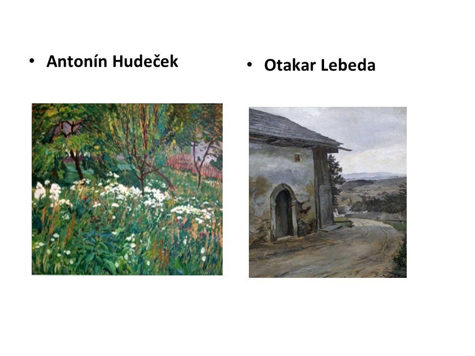 Antonín Hudeček Otakar Lebeda