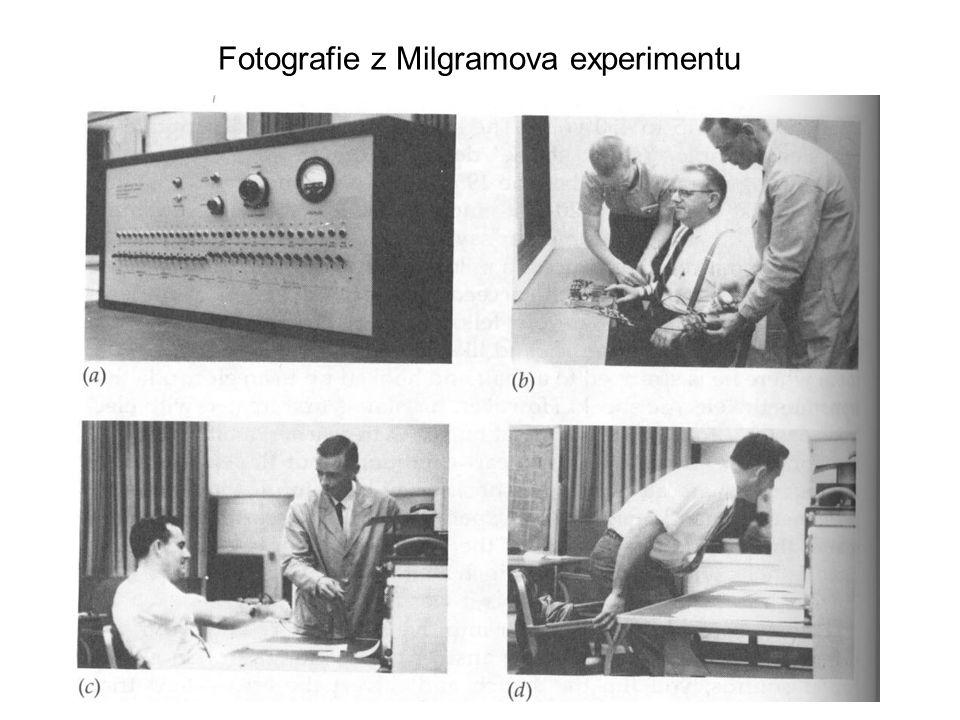 Fotografie z Milgramova experimentu