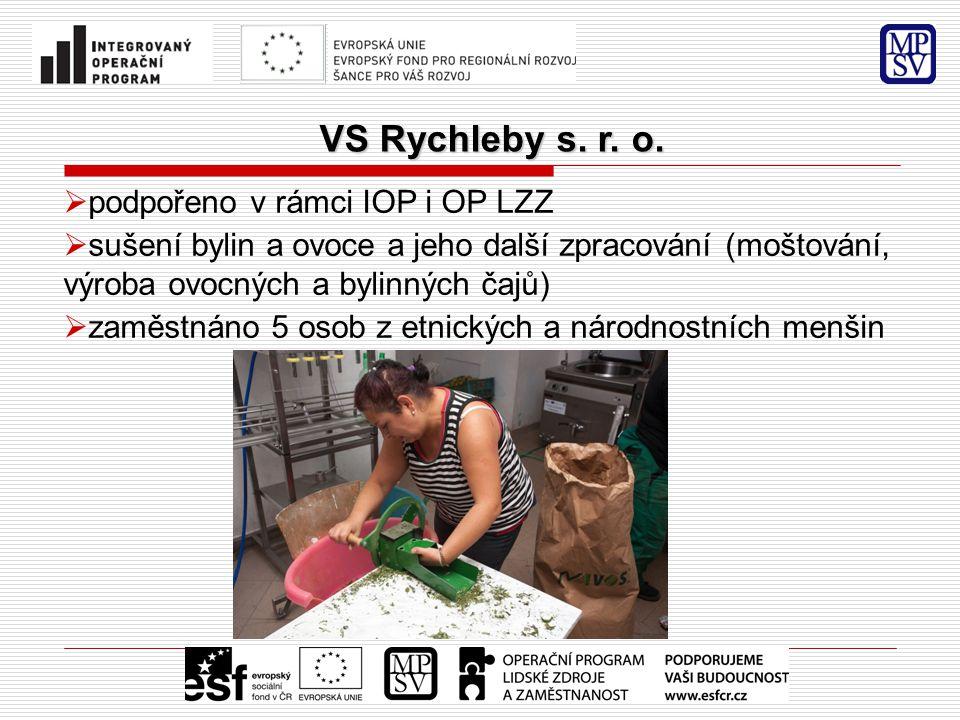 VS Rychleby s. r. o. VS Rychleby s. r. o.