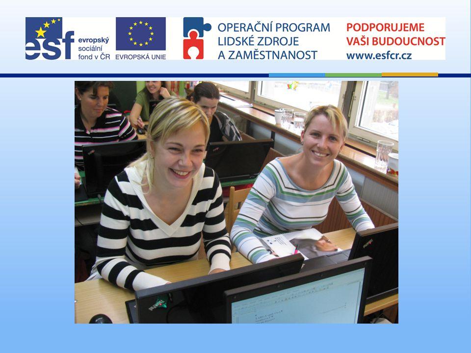 Poděkování Všem účastníkům projektu, partnerovi projektu o.s.