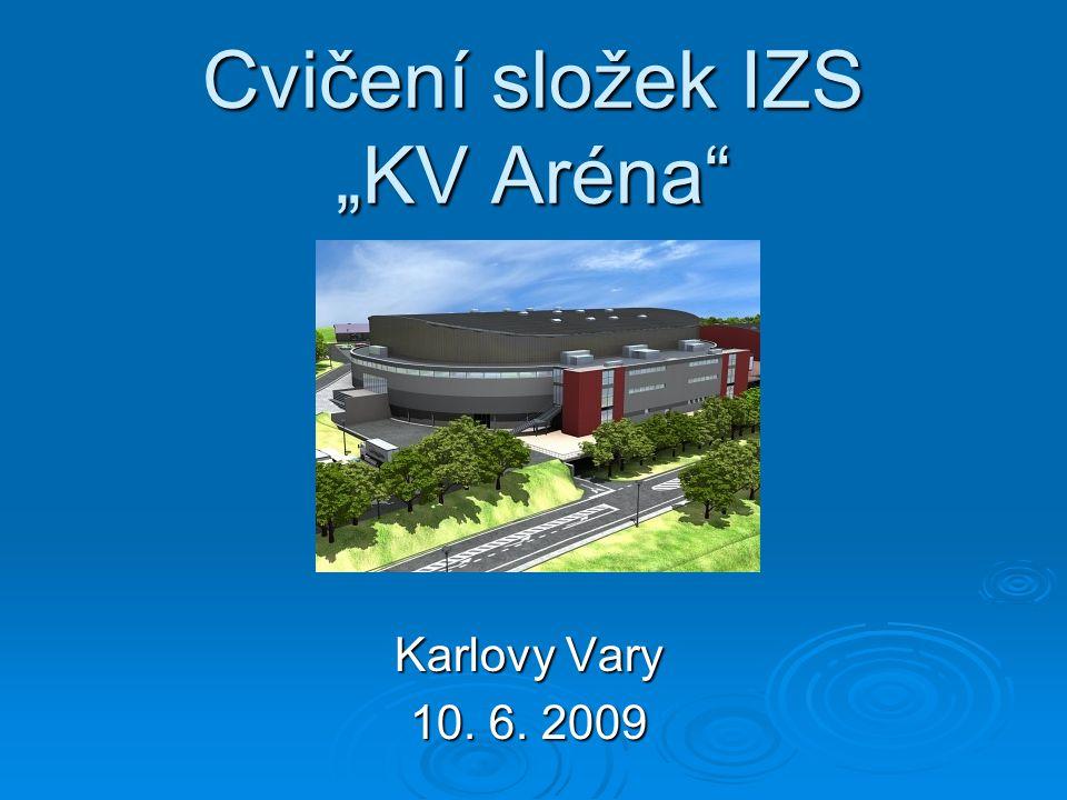 "Cvičení složek IZS ""KV Aréna"" Karlovy Vary 10. 6. 2009"