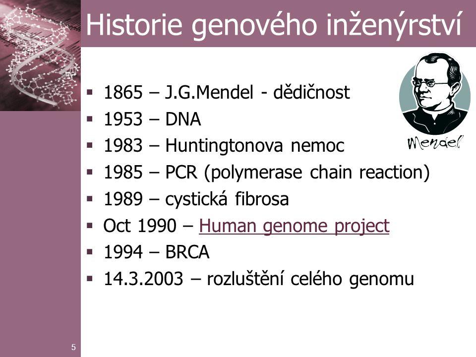 6 Cíle genetických studií  penetrace onemocnění  pravděpodobnost, že určitý genotyp bude příčinou onemocnění před dosažením určitého věku  frekvence mutací v populaci  přežití po propuknutí onemocnění  průběh a stadia onemocnění  interakce mezi genotypem a prostředím