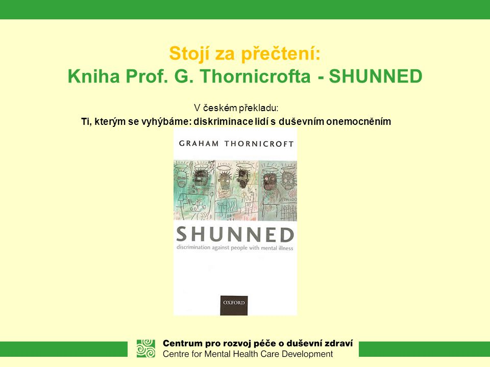 Stojí za přečtení: Kniha Prof.G.