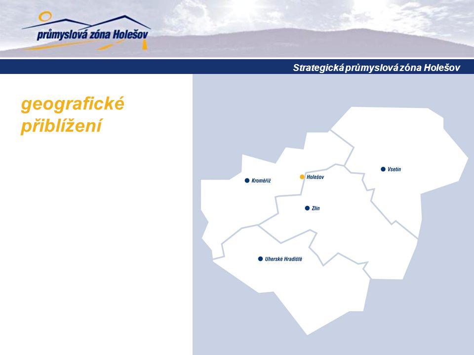 dopravní napojení  kvalitní dálniční napojení  propojení evropských dopravních koridorů R49, R 55 a D1 přímý přístup na trasu Paříž – Norimberk – Brno – Zlín – Púchov – Žilina – Kyjev Strategická průmyslová zóna Holešov