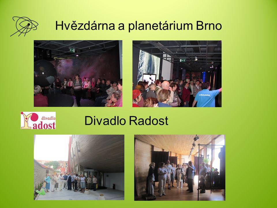 Hvězdárna a planetárium Brno Divadlo Radost