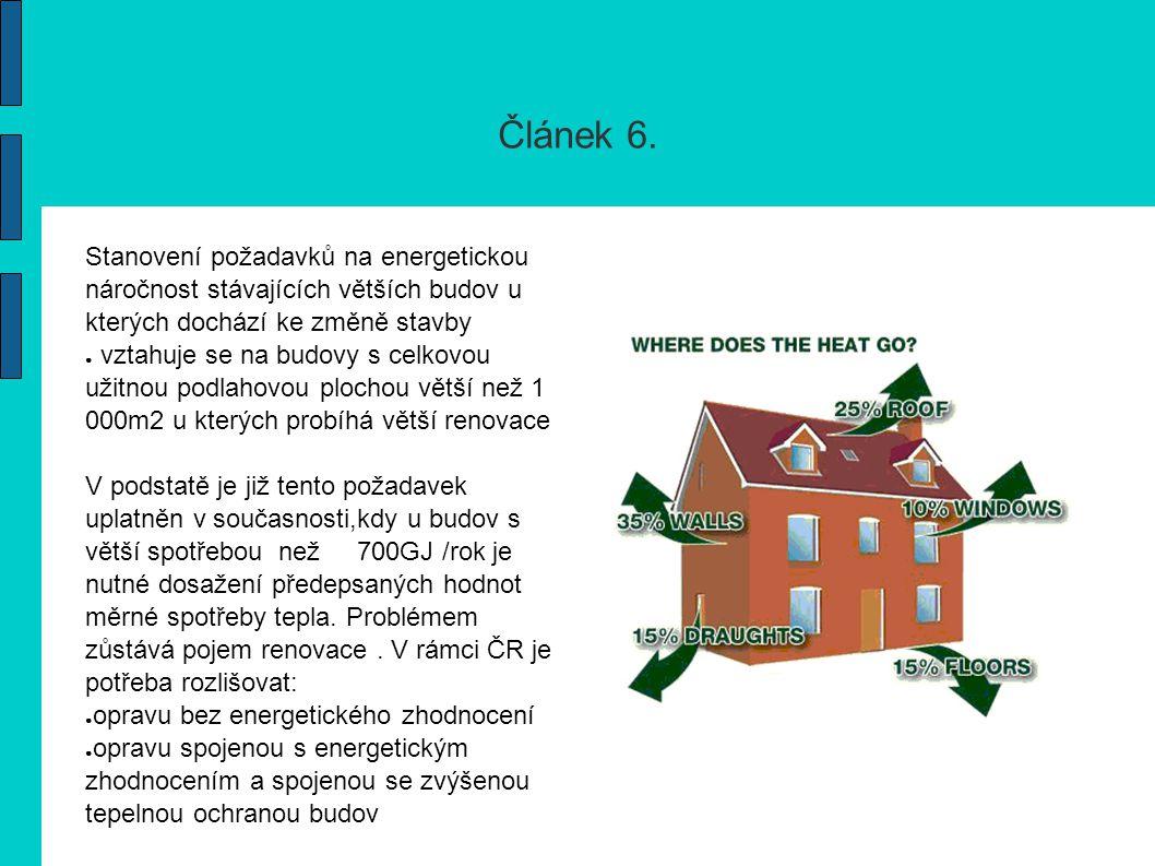 článek 7.Certifikát energetické náročnosti Certifikát slouží pouze k poskytnutí informací.
