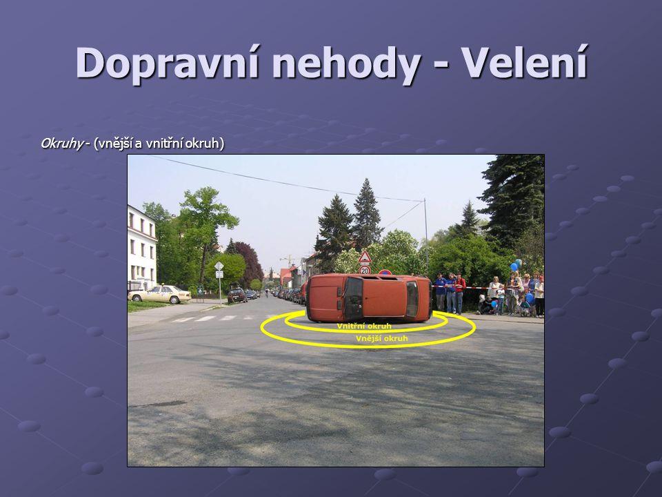 Dopravní nehody - Velení Okruhy - (vnější a vnitřní okruh)