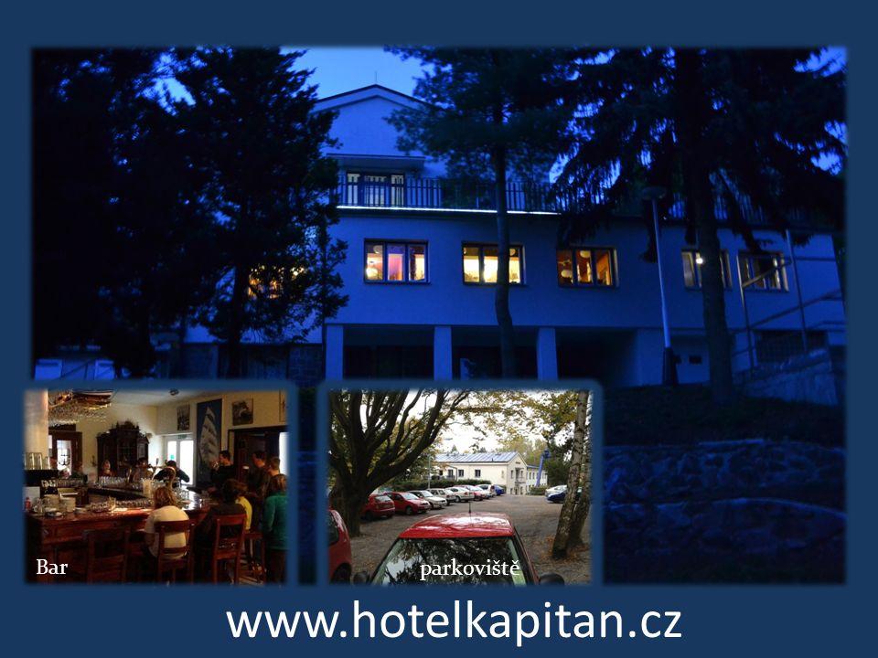 www.hotelkapitan.cz Bar parkoviště