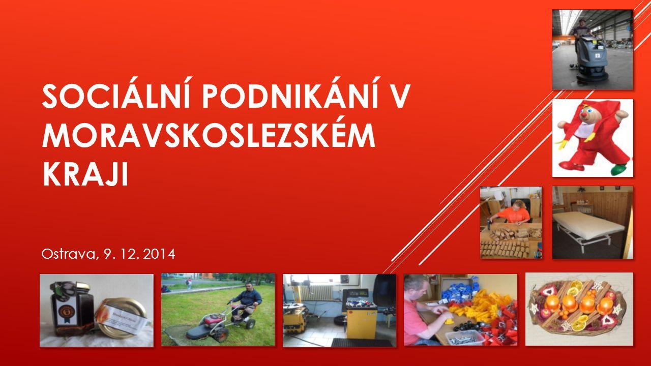 SOCIÁLNÍ PODNIKÁNÍ V MORAVSKOSLEZSKÉM KRAJI Ostrava, 9. 12. 2014
