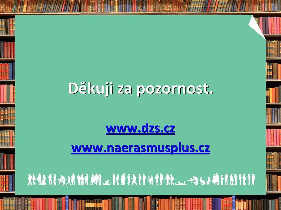 Děkuji za pozornost. www.dzs.cz www.naerasmusplus.cz
