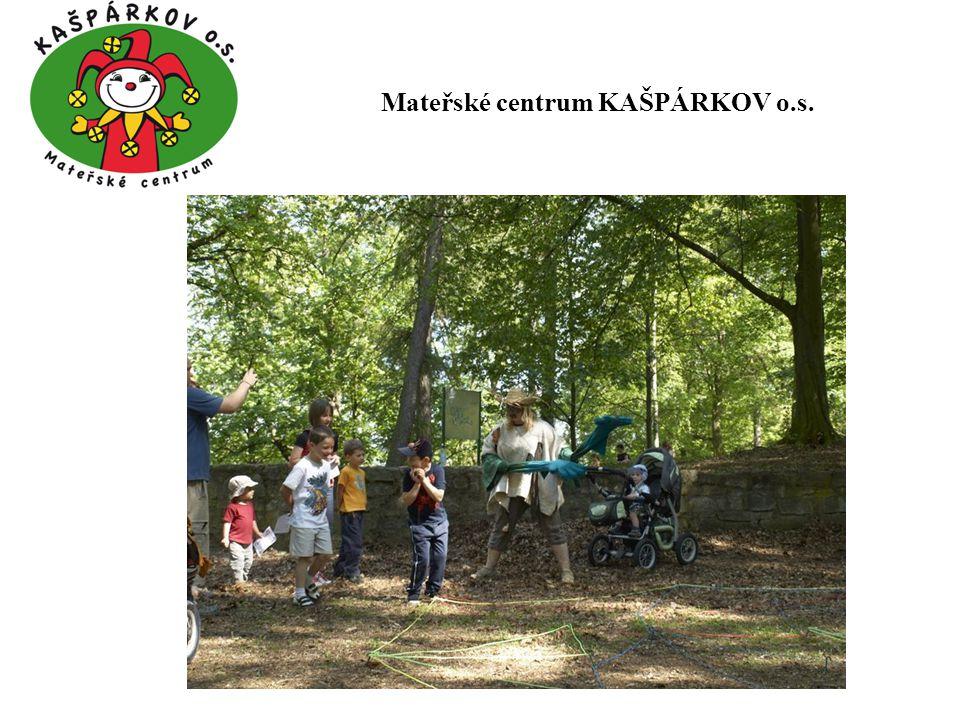 Děkujeme městu Rosice za finanční podporu v roce 2012 Mateřské centrum KAŠPÁRKOV o.s.