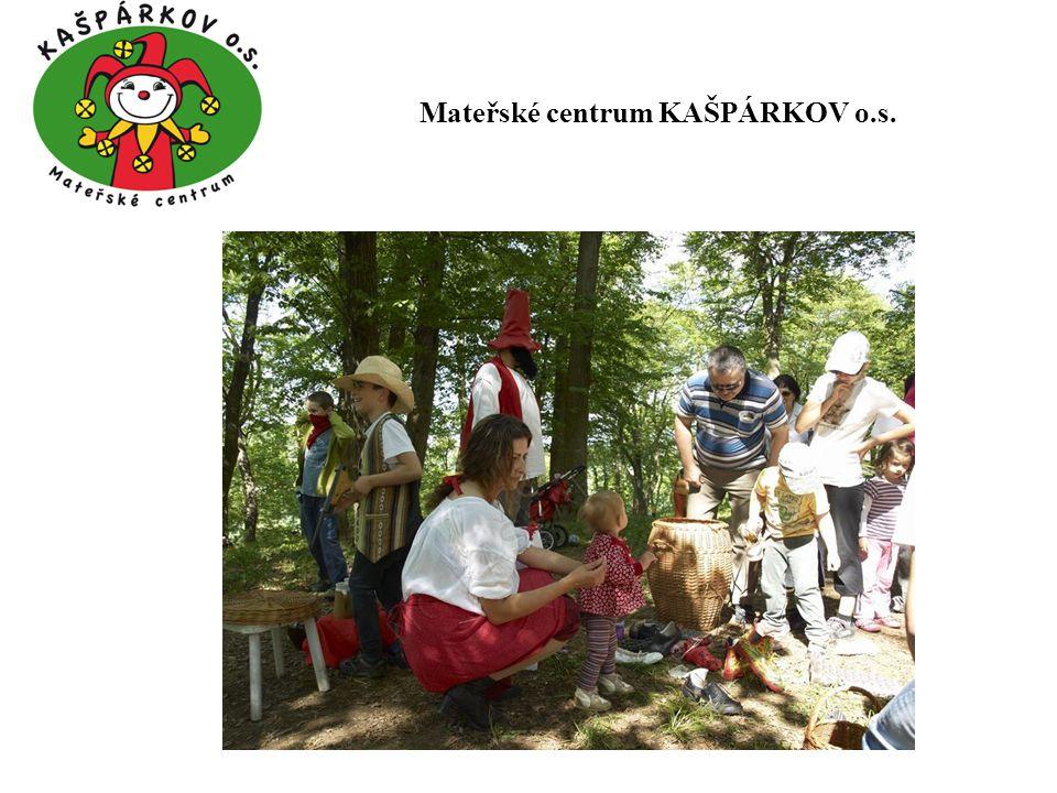 Děkuji Vám za pozornost... Mateřské centrum KAŠPÁRKOV o.s.