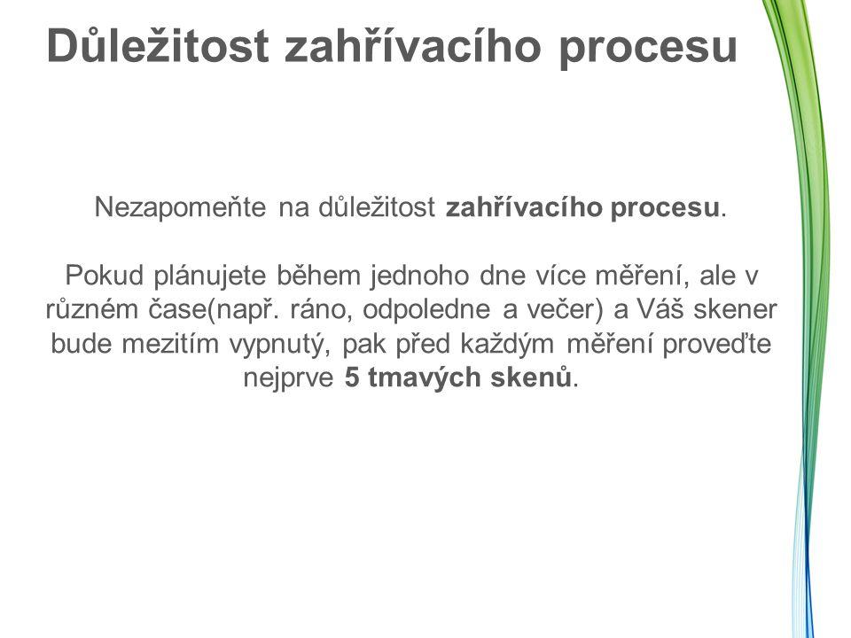 Důležitost zahřívacího procesu Nezapomeňte na důležitost zahřívacího procesu.