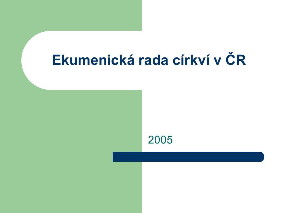 Ekumenická rada církví v ČR 2005