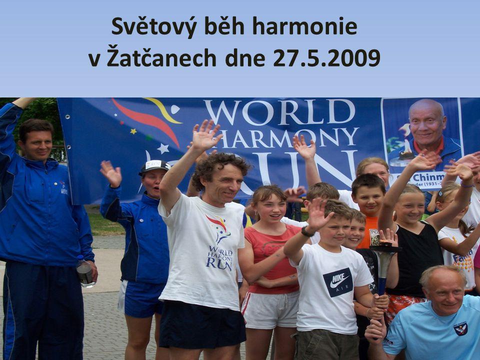 Světový běh harmonie v Žatčanech dne 27.5.2009