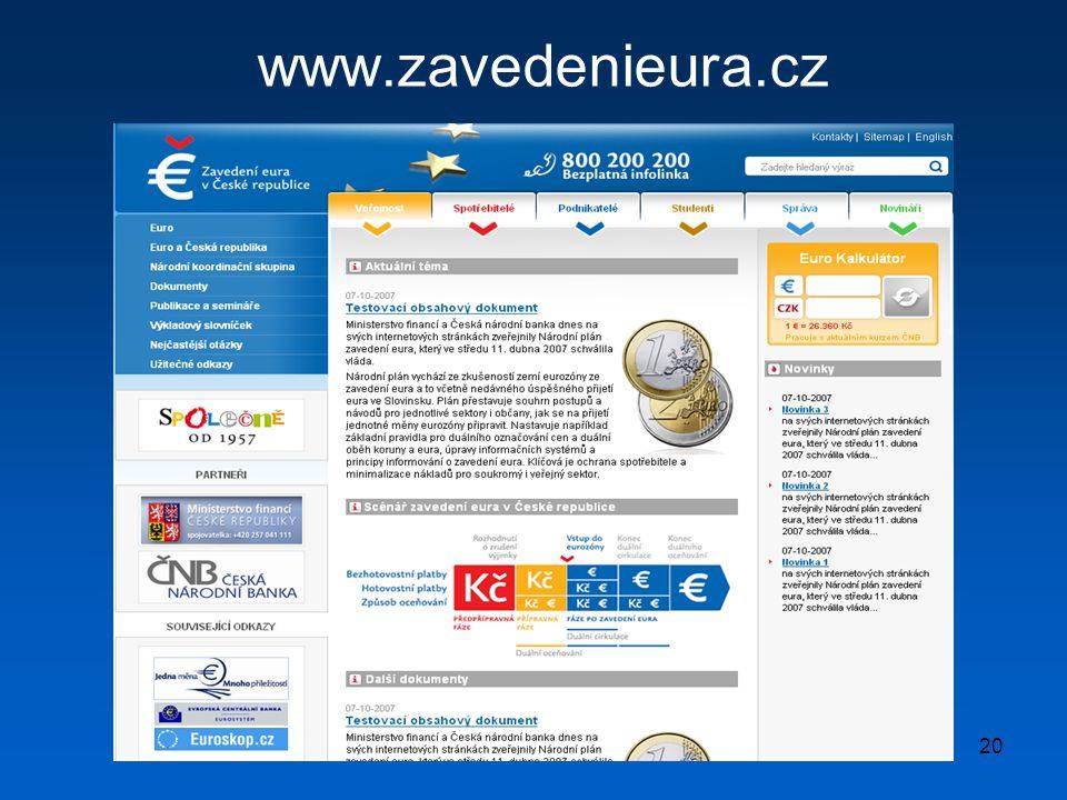 20 www.zavedenieura.cz