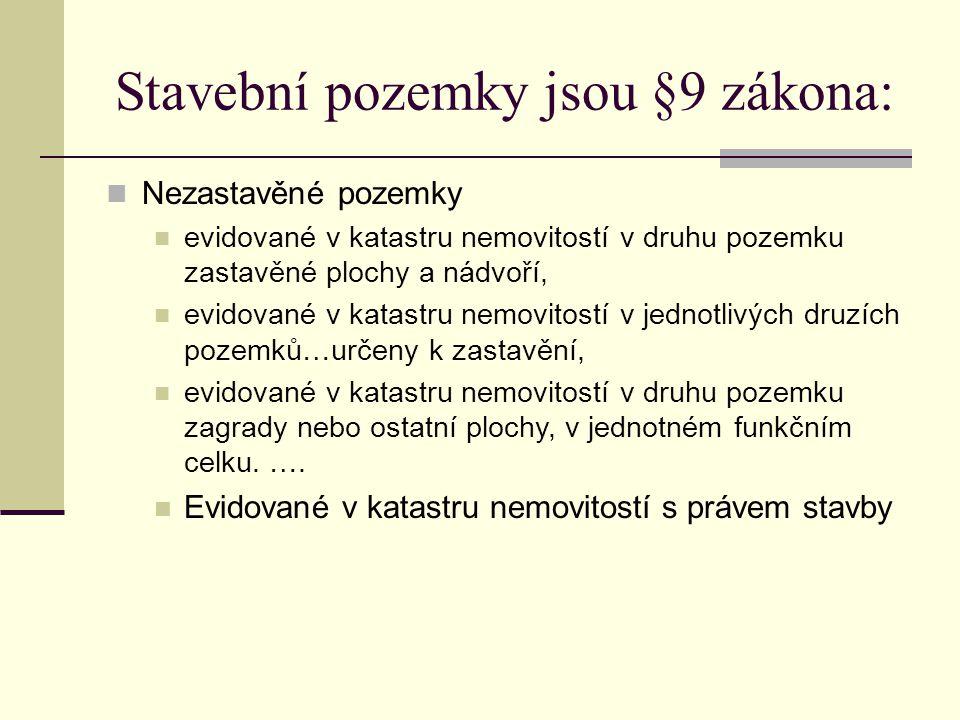 PŘÍKLAD Oceňte pozemky, které se nachází v k.ú.Opava – Předměstí p.č.