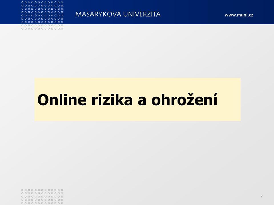 7 Online rizika a ohrožení