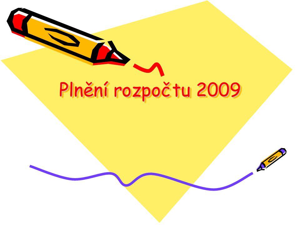 Plnění rozpočtu 2009