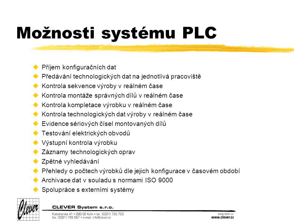 Spouštěcí skripty Pro jednoduché spouštění příslušných modulů PLC jsou na jednotlivých počítačích v direktoráři /usr/bin vytvořeny následující spouštěcí skripty: -plc_start – skript, který se spouští po startu systému, a který zajistí start všech modulů, které běží na příslušném počítači.