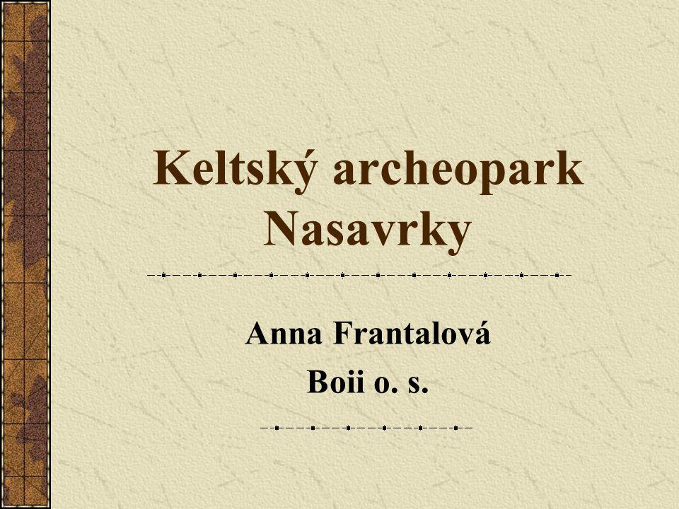 Keltský archeoskanzen 2) Místo Město Nasavrky – jižně od Pivovarského rybníku