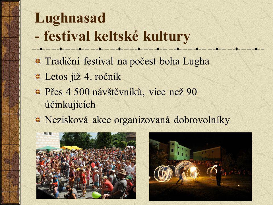Lughnasad - festival keltské kultury Tradiční festival na počest boha Lugha Letos již 4.