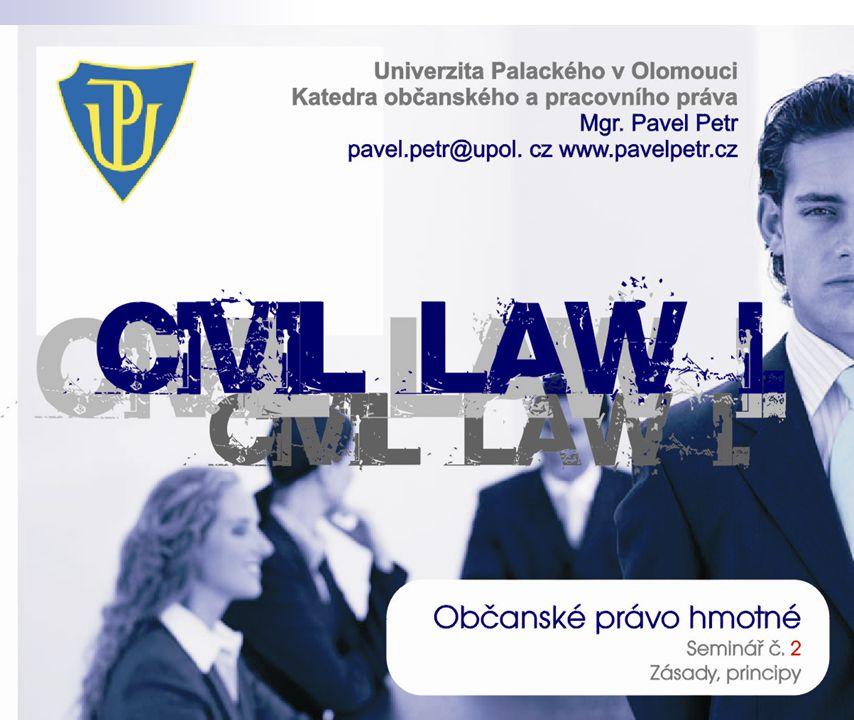 Zásada prevence Hmotně právní prevence § 43;§ 415 aj.