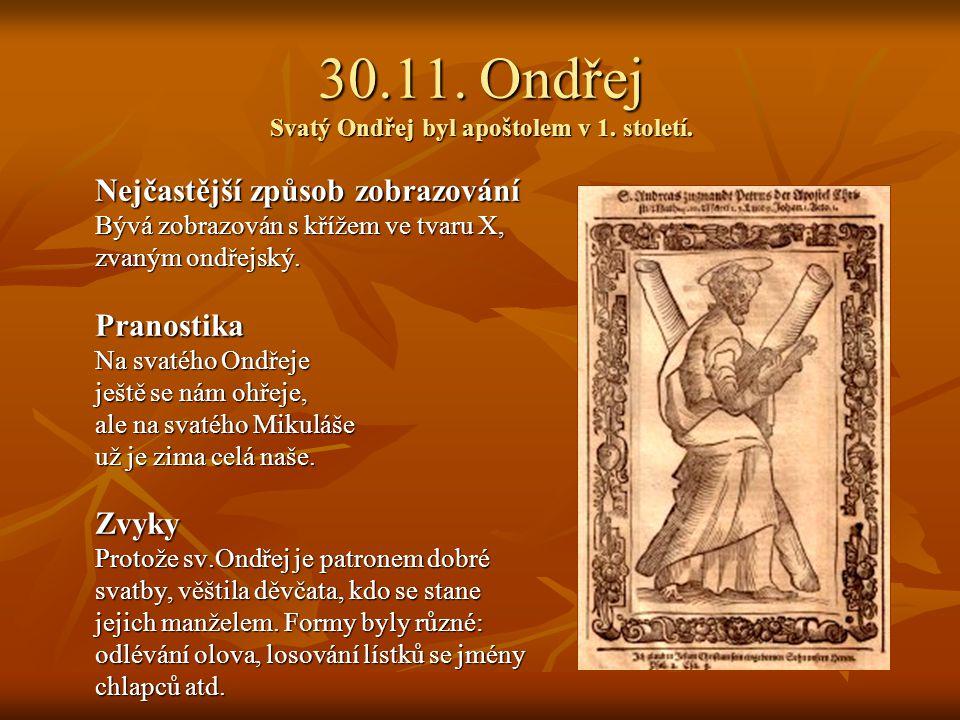 25.11. Kateřina Svatá Kateřina byla mučednice ve 4. století. Nejčastější způsob zobrazování Bývá zobrazována s korunou, mečem a rozlomeným kolem s ost